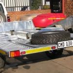 2 Ton Heavy duty galvanized car trailer1