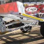 2 Ton Heavy duty galvanized car trailer3