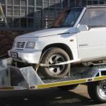 2 Ton Heavy duty galvanized car trailer8