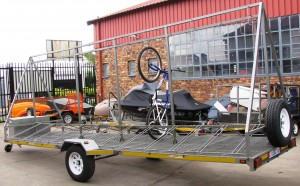 24 Bicycle trailer