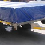 3.5 Ton Drop side trailer with PVC cover1