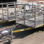 3m x 1.3m commercial trailers