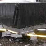 4m x 1.7m 900kg GVM commercial trailer