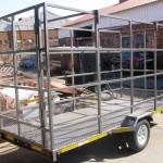 4m x 1.7m x 2m commercial trailer