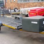 6 seater golf cart trailer