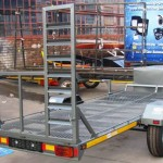 6 seater golf cart trailer1
