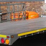 6m x 2.3m 3.5 ton flat deck trailer6