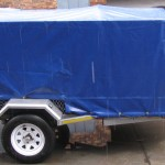 750kg GVM commercial trailer with PVC cover