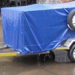 750kg GVM commercial trailer with PVC cover2