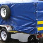 750kg GVM commercial trailer with PVC cover3