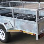 750kg GVM galvanized commercial trailer2