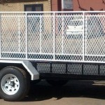 Car and loading trailer3