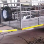 Commercial 4m x 1.7m 1500kg trailer
