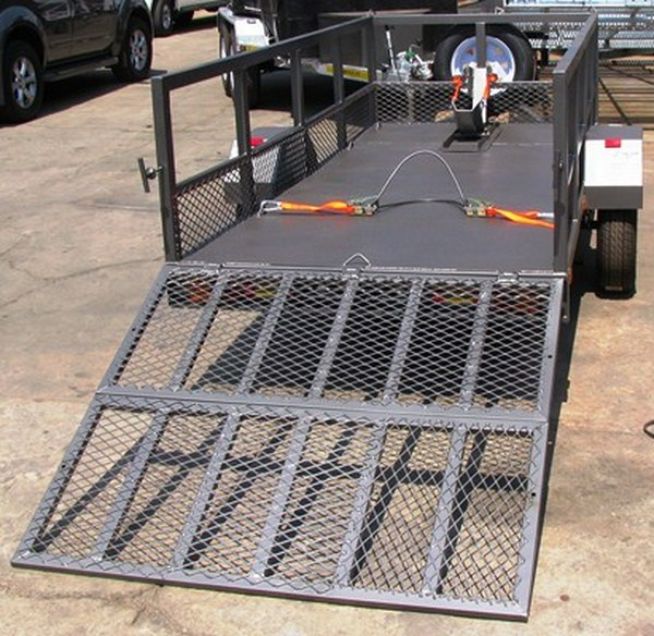 X Factor Sport Commercial And Single Bike Trailer With Solid