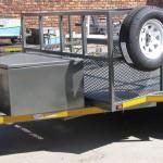 Custom 1.5T GVM self braking commercial trailer1