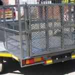 Custom 1.5T GVM self braking commercial trailer2
