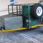 Custom 1.5T GVM self braking commercial trailer6