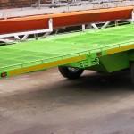 Custom 5 quad trailer with storage area in floor