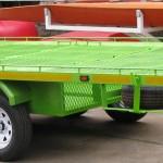 Custom 5 quad trailer with storage area in floor1