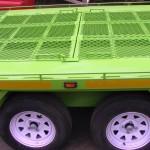 Custom 5 quad trailer with storage area in floor2