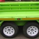 Custom 5 quad trailer with storage area in floor3