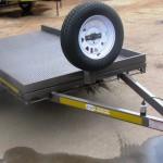 Custom commercial trailer