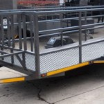 Custom commercial trailer with custom tailgate1