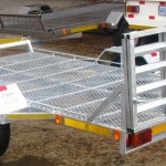 Custom galvanized golf cart trailer1