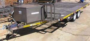 Custom recreational trailer
