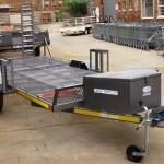 Custom side by side & two wheeler trailer2