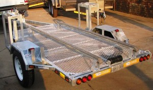 Custom single jet ski trailer1