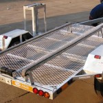 Custom single jet ski trailer