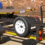 Custom small car trailer