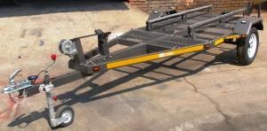 Custom tilt jet ski trailer2