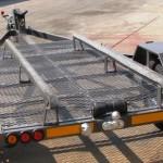 Custom tilt jet ski trailer