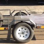 Custom triple bike trailer with fold down ramp4