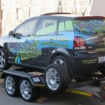Dbl axle car trailer1