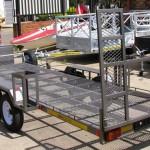 Dbl axle dbl quad trailer