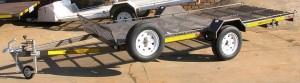 Dbl quad rear loader ramps under
