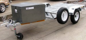 Double bike or single quad trailer galvanized1 (1)