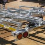 Double jet ski galvanized trailer1