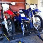 Double mx bike