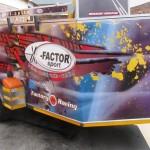Double quad enclosed racing trailer1