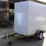 Enclosed 1.3 x 2.2m 500kg trailer