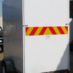Enclosed 1.3 x 2.2m 500kg trailer1