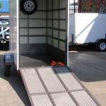 Enclosed 1.3 x 2.2m 500kg trailer2