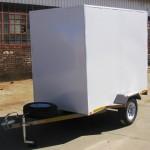 Enclosed 1200kg GVM trailer