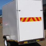 Enclosed 1200kg GVM trailer3