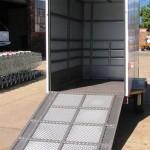 Enclosed 1200kg GVM trailer4