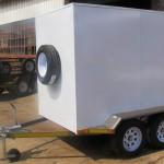 Enclosed 2.7 Ton GVM trailer1